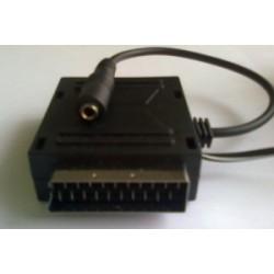 Amplificatore cuffia per presa scart